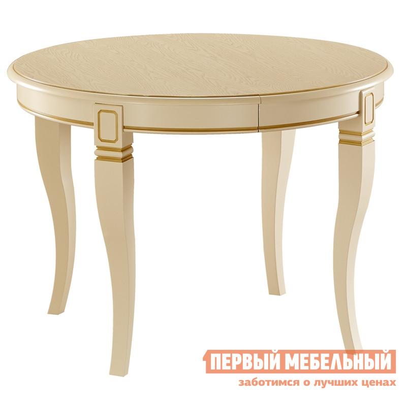 Обеденный стол с патиной Лидер «Кадис 105-Ш» обеденный стол с матовым стеклом лидер рим 90 75 с венге стекло светлое с квадратами