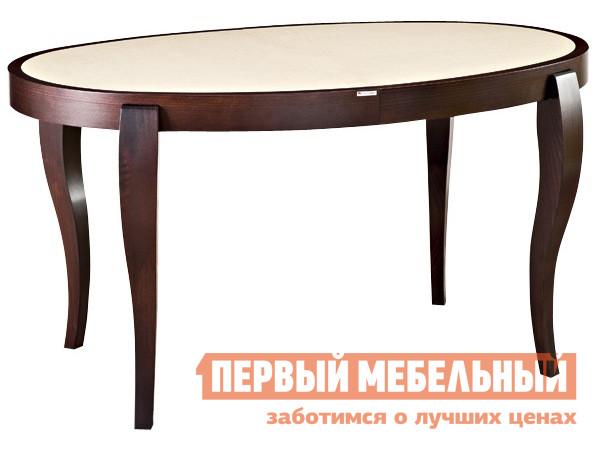 Обеденный стол с каменной столешницей Лидер «ЭЛИС 140/90-ОВК»