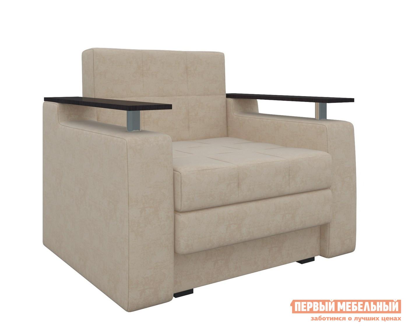 Кресло Мебелико Кресло-кровать Комфорт Бежевый микровельвет от Купистол