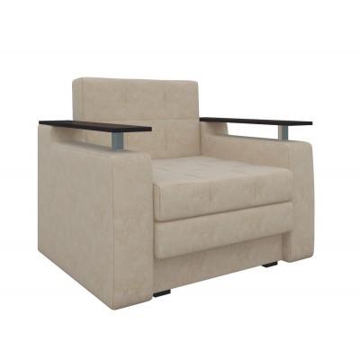 Кресло Мебелико Кресло-кровать Комфорт Бежевый микровельвет