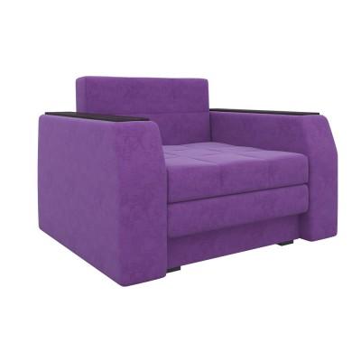 Кресло Мебелико Кресло-кровать Эмир Фиолетовый микровельвет