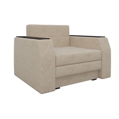 Кресло Мебелико Кресло-кровать Эмир Бежевый микровельвет