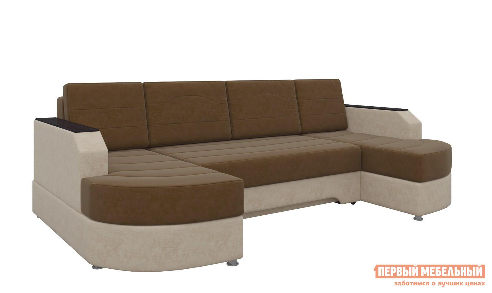 Угловой диван Мебелико Диван угловой Сахара П