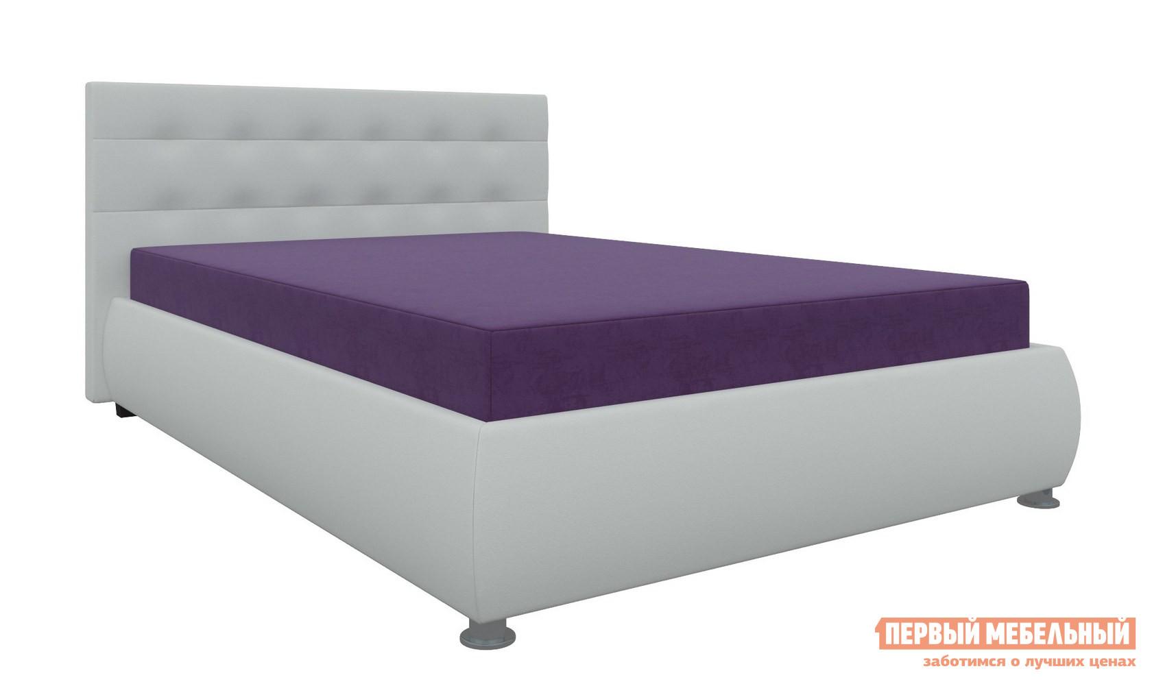 Полутороспальная кровать с матрасом Мебелико Кровать Рио