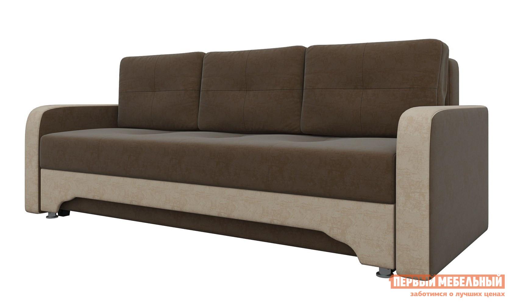 Прямой диван Мебелико Диван-еврокнижка Ник-3