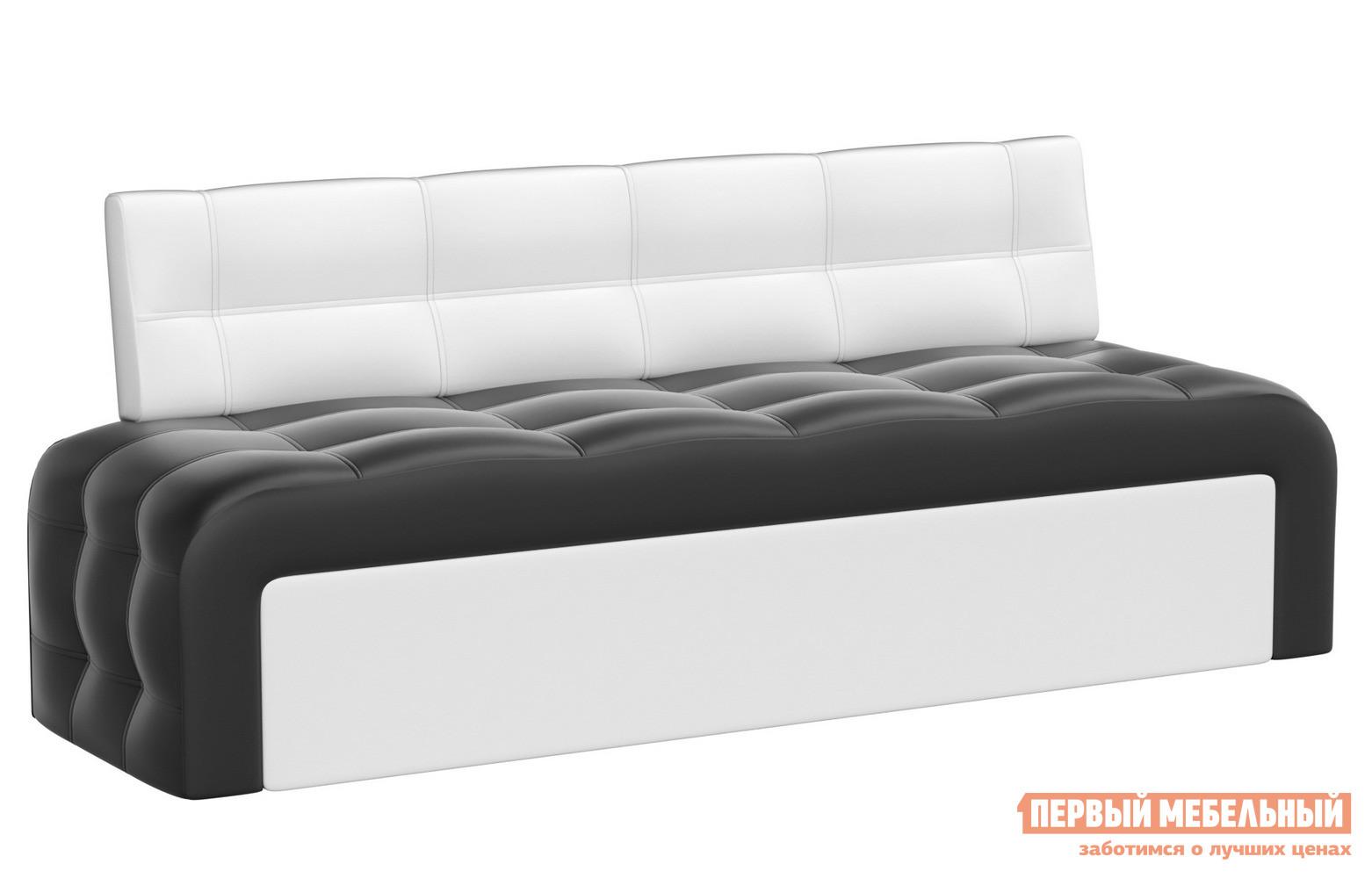 Диван-кровать для кухни прямой Мебелико Кухонный диван Люксор эко-кожа