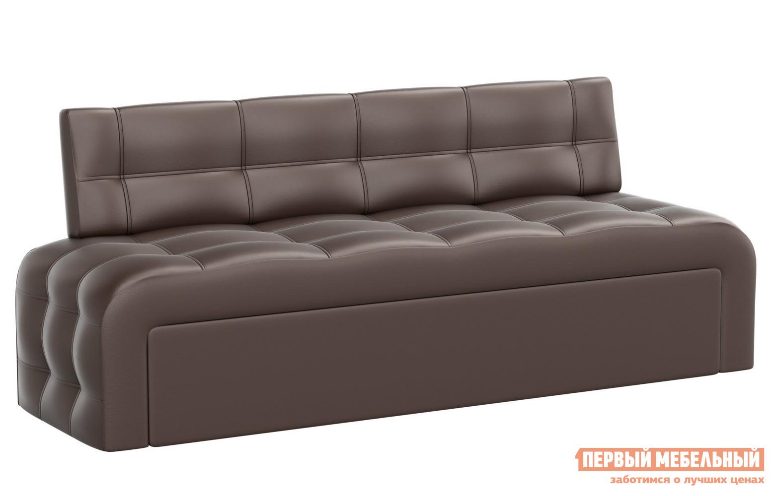 Кухонный диван  Кухонный диван Люксор эко-кожа Экокожа коричневая
