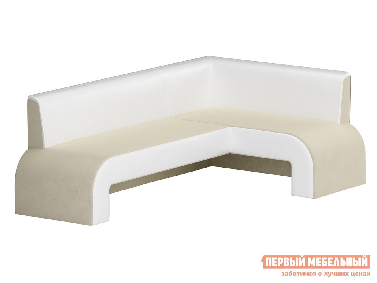 Мягкий угловой кухонный диван Мебелико Кармен