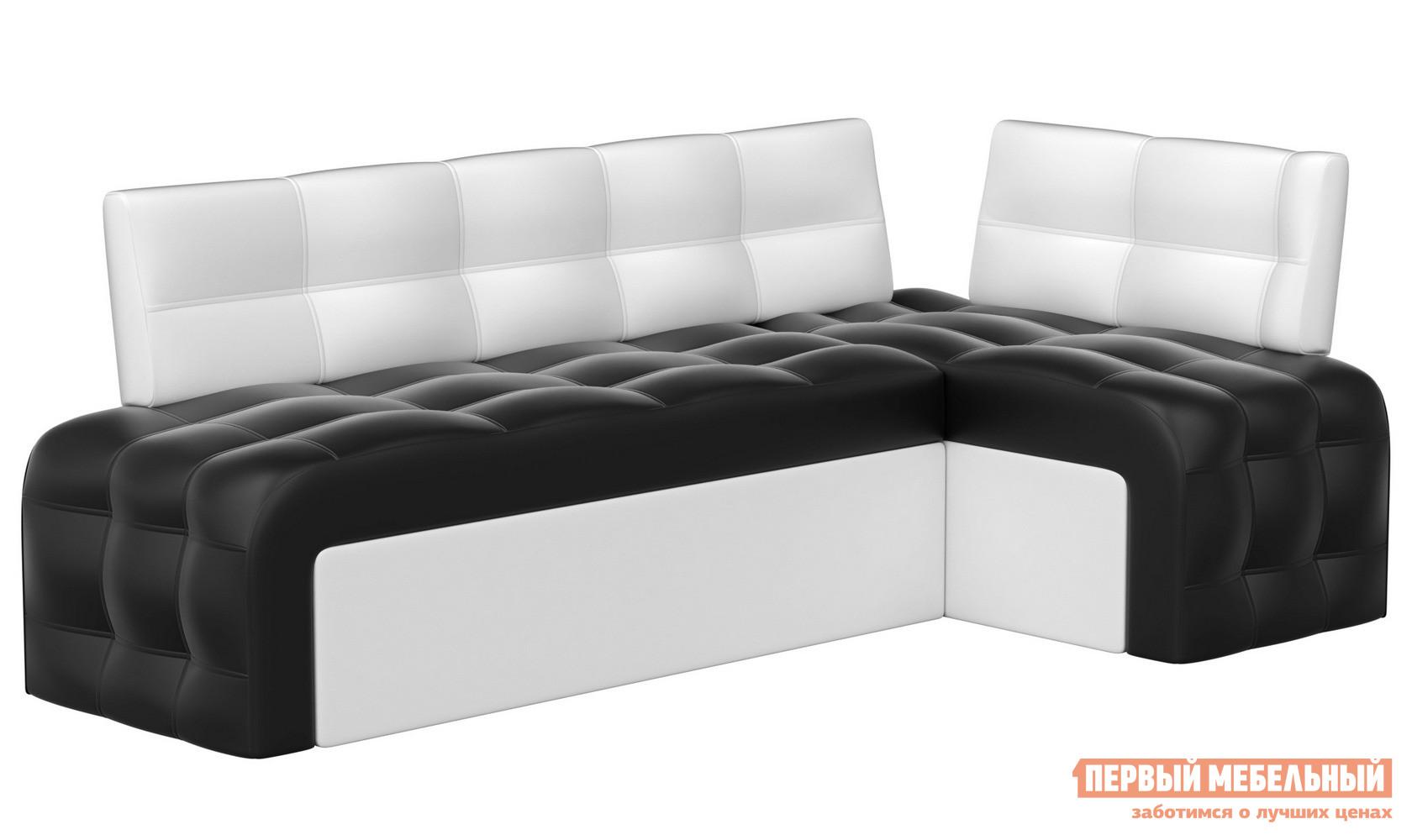 Односпальный диван на кухню Мебелико Кухонный угловой диван Люксор эко-кожа