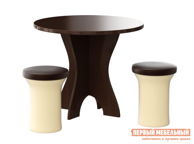 Обеденная группа для кухни Мебелико Обеденная группа Лотос обеденная группа с круглым столом для кухни боровичи норония 4 диметра