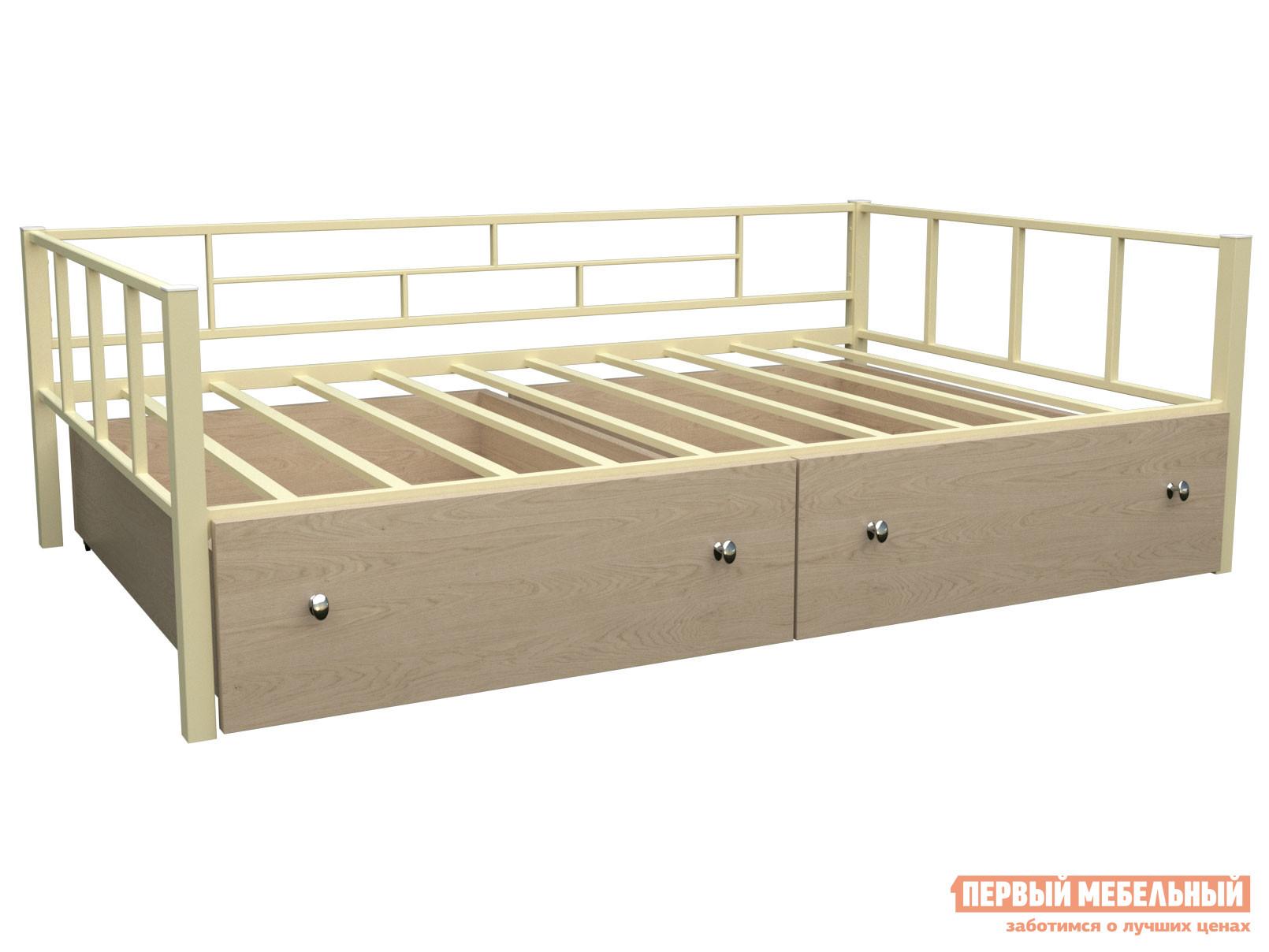 Детская кровать МФ 4 Сезона Кровать Арга 120 с ящиками