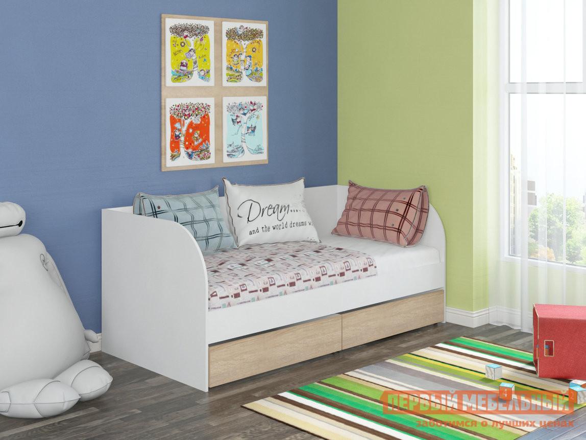Детская кровать Golden Kids Golden Kids-7 Дуб Сонома, Белый