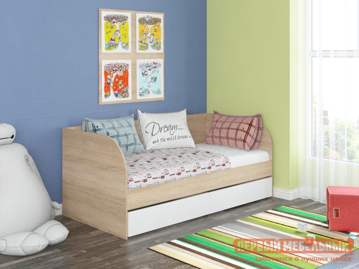 Детская кровать ЧСМФ Golden Kids-7 Белый, Бежевый