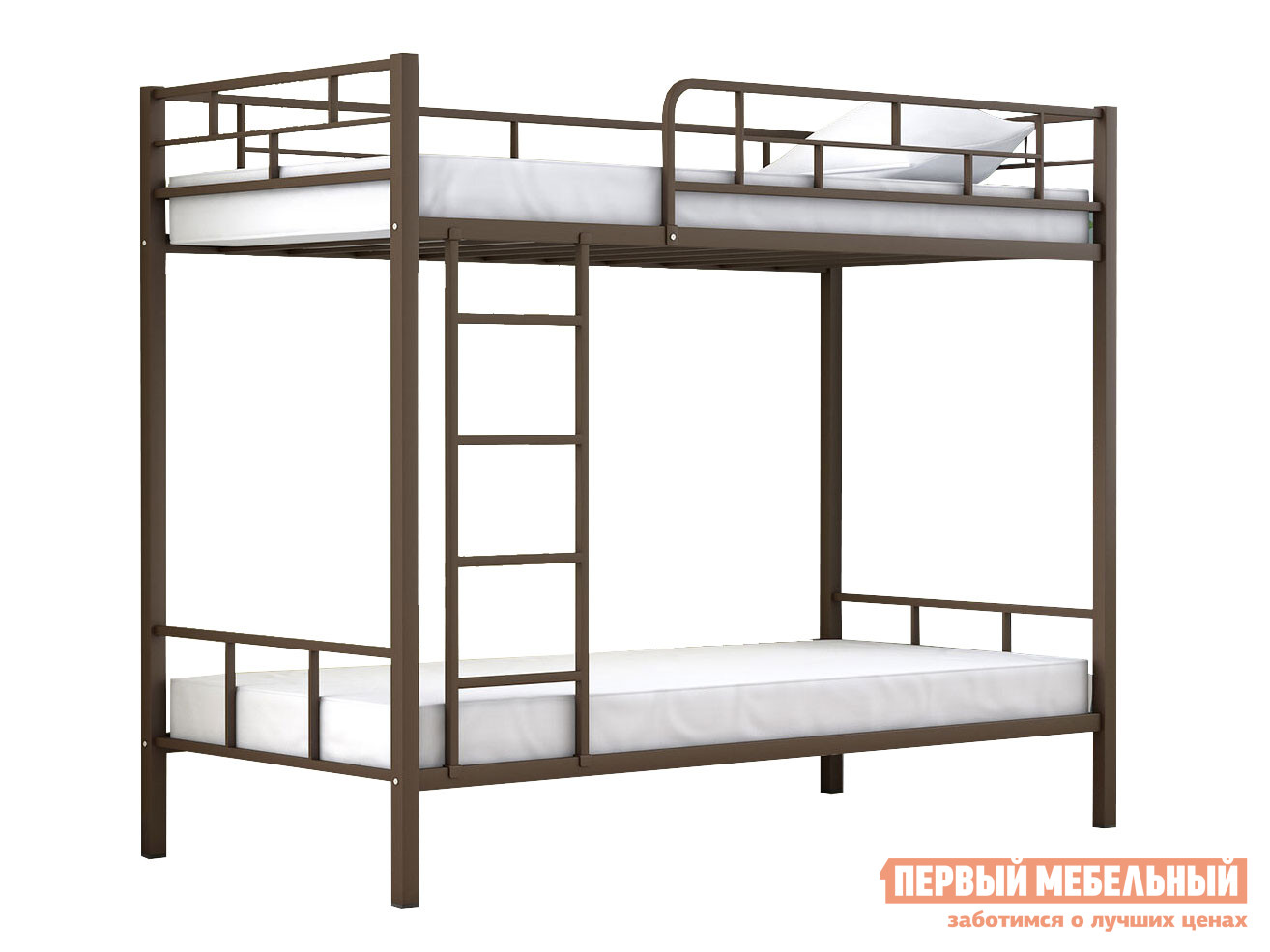 Кровать  Двухъярусная кровать Ницца Коричневый, Венге — Двухъярусная кровать Ницца Коричневый, Венге