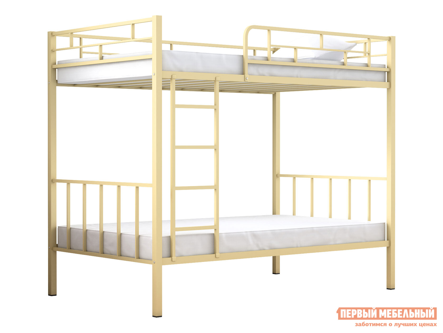 Двухъярусная кровать для детей с бортиками МФ 4 Сезона Валенсия 120