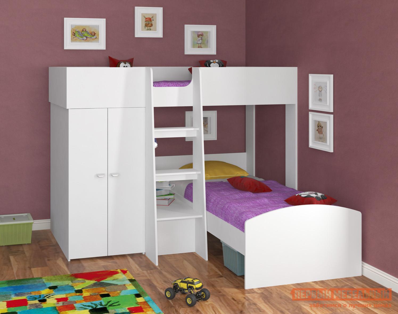 Кровать-чердак Golden Kids Golden Kids-4 Зеленый, Белый