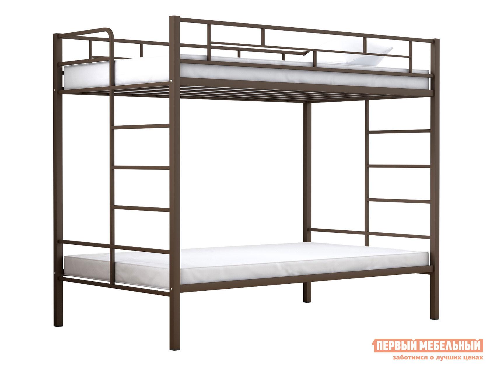 Двухъярусная кровать для детей с бортиками МФ 4 Сезона Валенсия 120 Твист