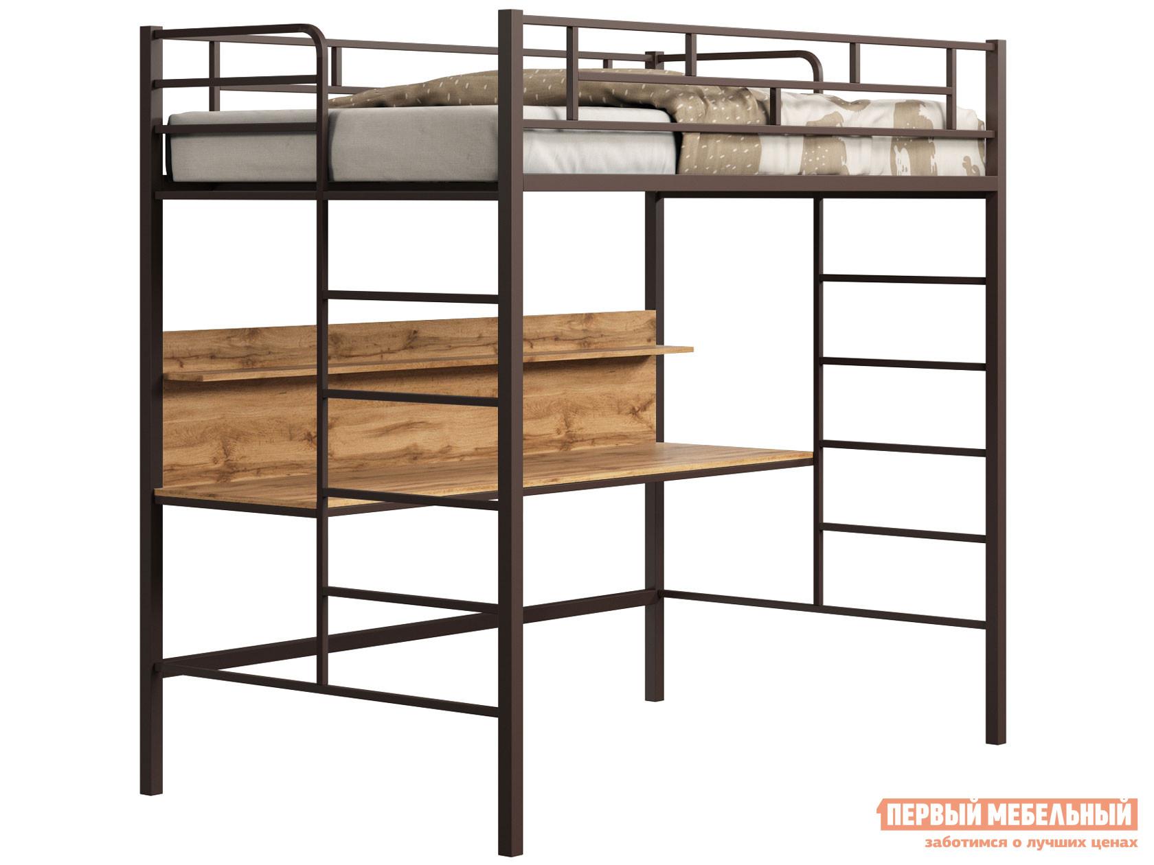 Кровать-чердак МФ 4 Сезона Кровать-чердак детская Амстердам 120 со столом