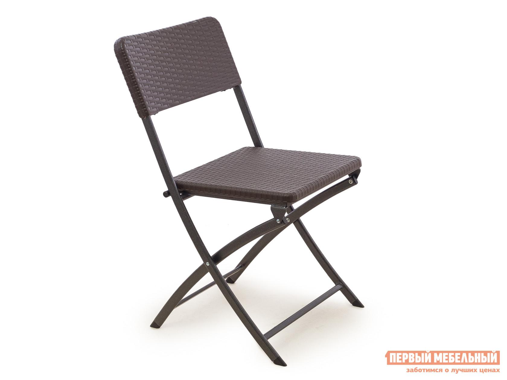 Пластиковый стул Green Glade C041 Коричневый