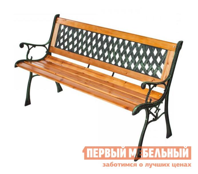 "Скамейка Green Glade К060 ""CURVE"" Чугун / Дерево"