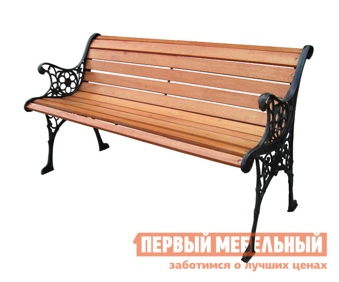 Скамейка Green Glade К071 Чугун / Дерево