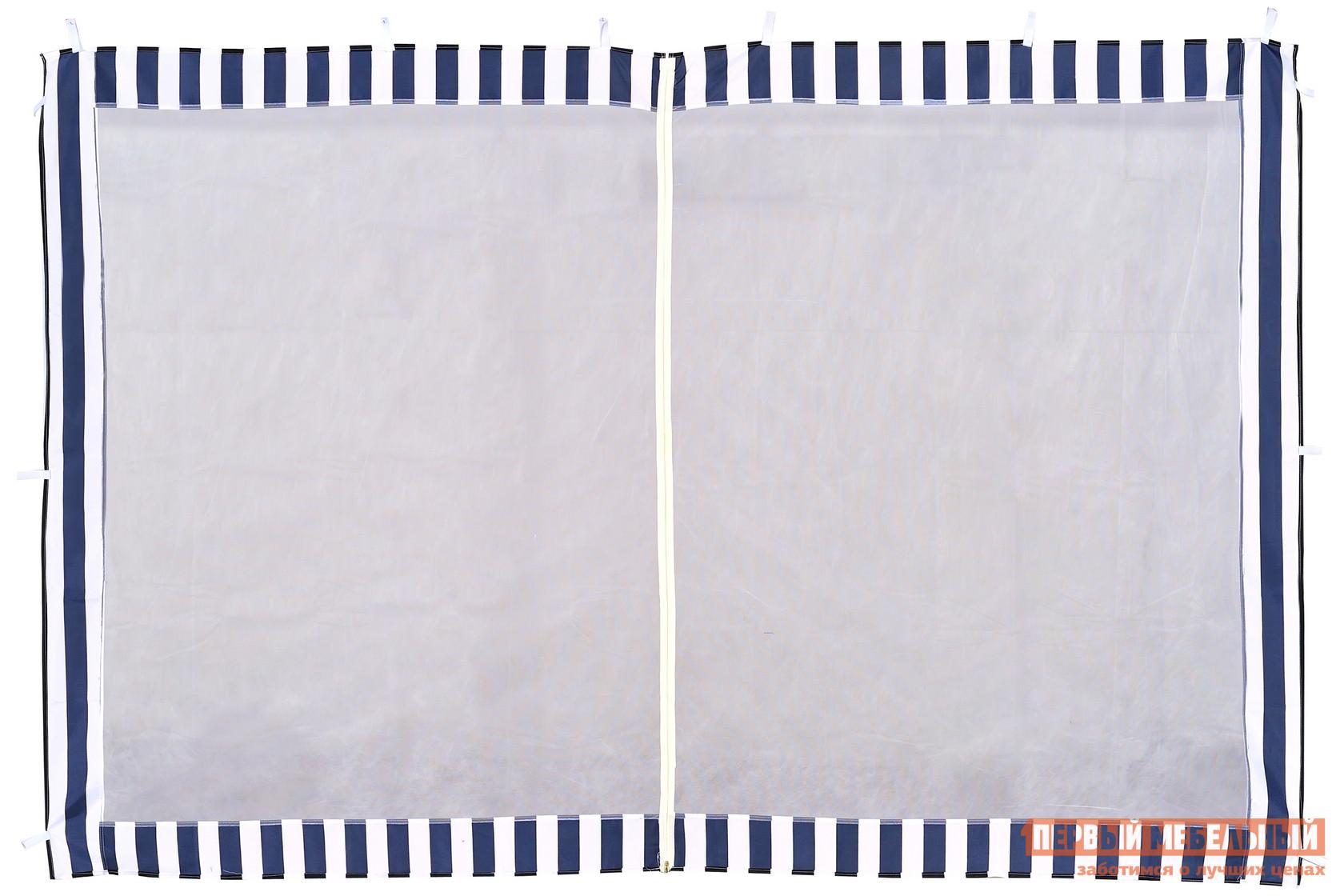 Аксессуар для шатров  Стенка с москитной сеткой Синий — Стенка с москитной сеткой Синий