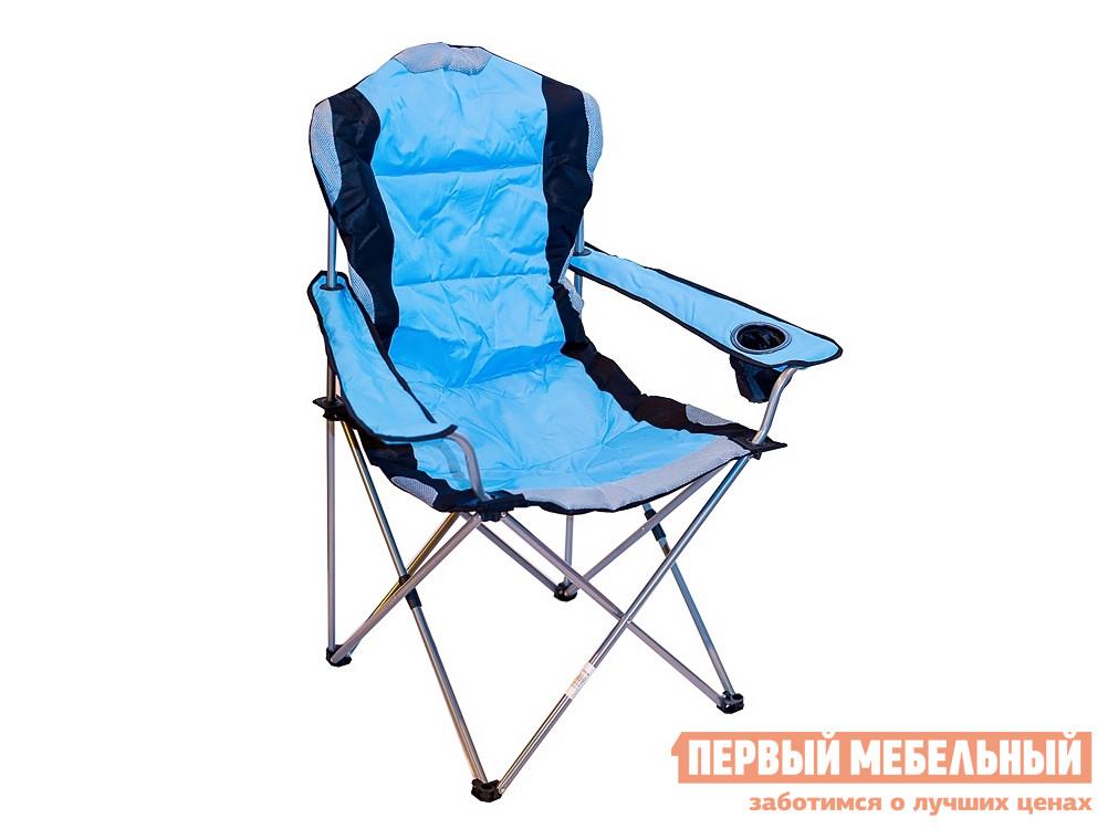 Кресло для пикника Green Glade 2305 Черный / Голубой