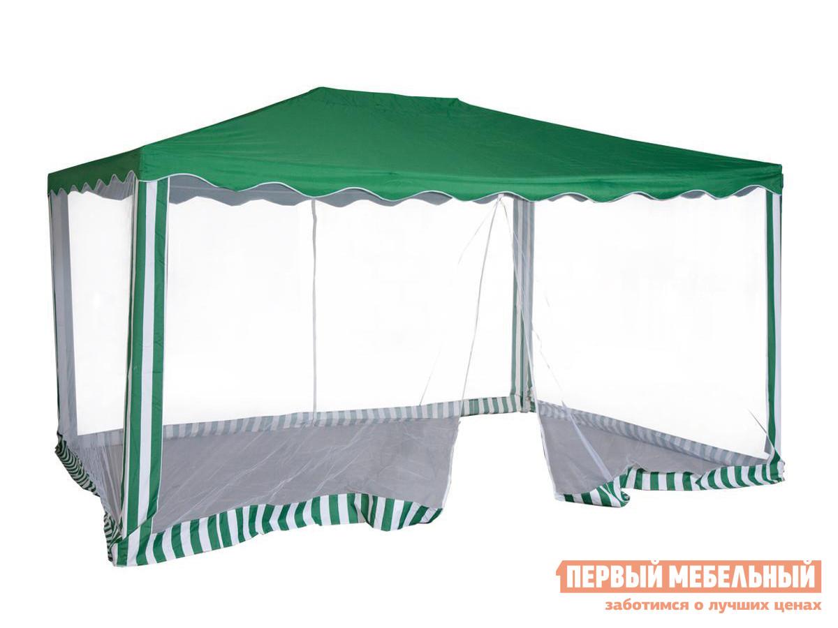 Дачный шатер с москитной сеткой для отдыха Лекс групп 1088 Тент садовый из полиэстера