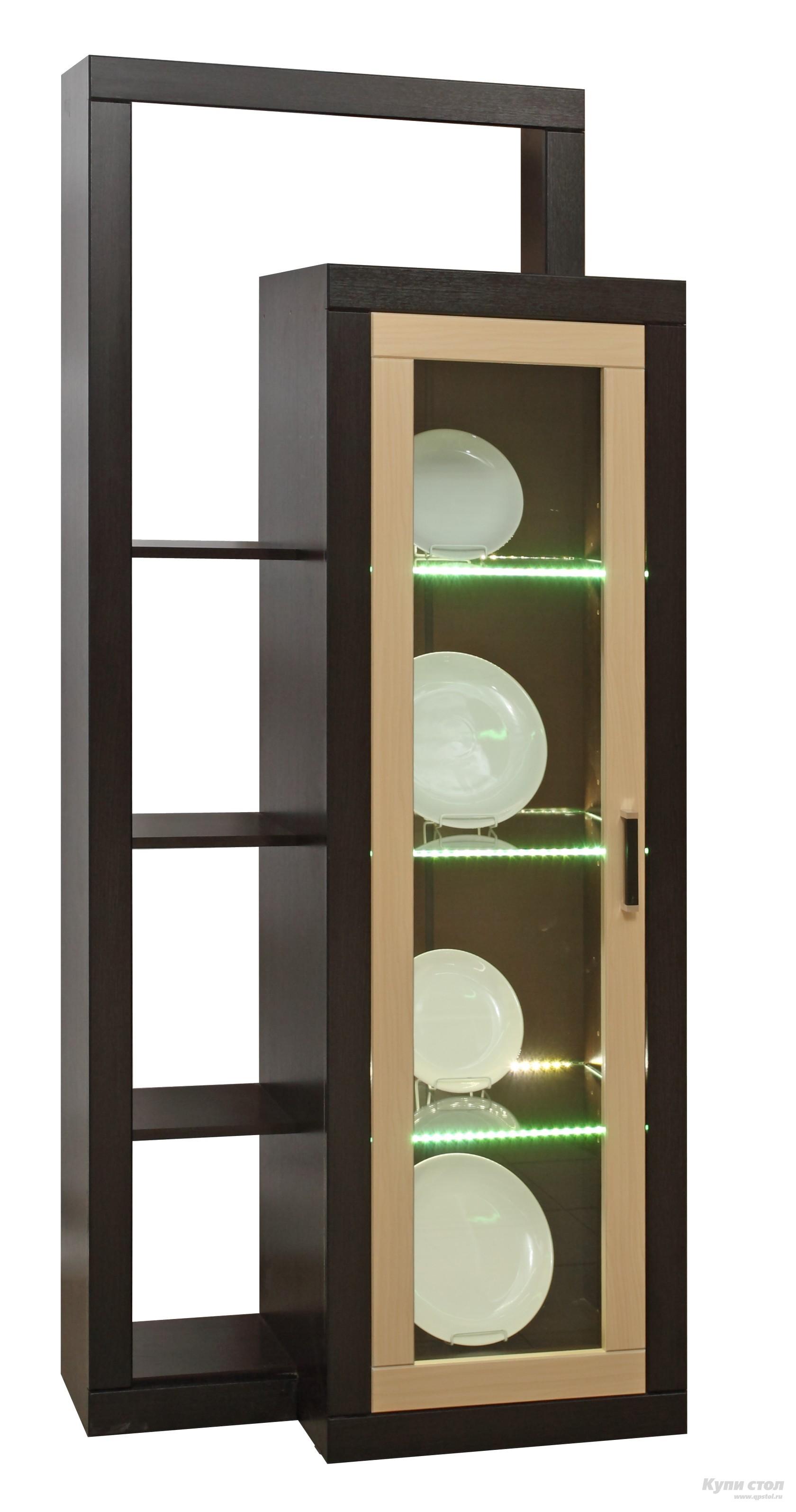 Шкаф-витрина 12.18 КупиСтол.Ru 6510.000