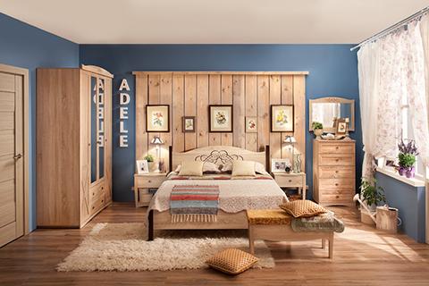 Модульные спальни :: «Адель» :: Фото 1