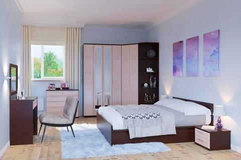 Модульные спальни :: «Сокол Венге / Беленый дуб» :: Фото 1