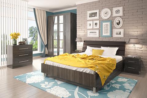 Модульные спальни :: «Соренто Столлайн» :: Фото 1