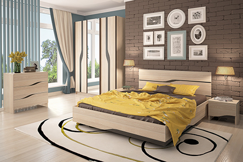 Модульные спальни :: «Кензо» :: Фото 1